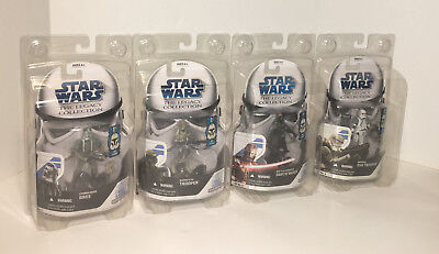 SET of (4) Star Wars THE LEGACY COLLECTION Greatest Hits FIGURES GH No. 1 - 4