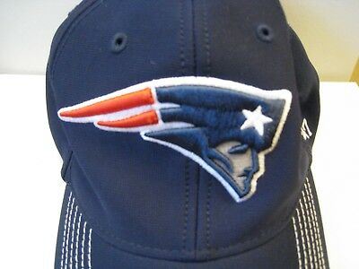 54174671ab0 New England Patriots  47 Brand Navy Blue Fitted Franchise Hat - Large Size