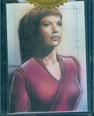 Star Trek Enterprise Archives Series 1 Sketch Card by Huy Truong
