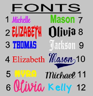 Custom Vinyl Name Initial Monogram Decal Personalized Sticker Window Cup Yeti