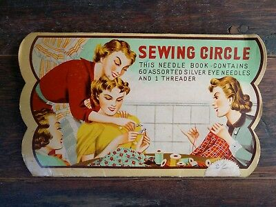Vintage Sewing Circle Needle Book Collectable
