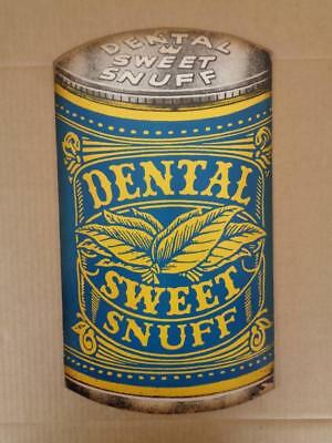 Dental Scotch Snuff Advertising Hanging Store Display Sign Tobacco