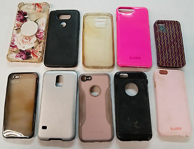 Wholesale Lot of 30 Cell Phone Cases for iPhone, iPhone X, Galaxy Note