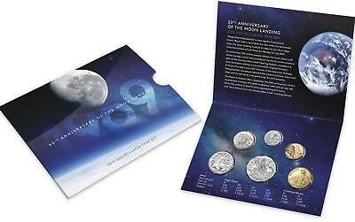 2019 Uncirculated Year Set - 50th Anniversary of the Moon Landing   #2