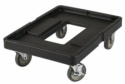 "Cambro 20-3/4"" x 27-5/8"" x 9"" Polyethylene Food and Beverage Dolly, Black -"