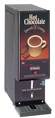 Grindmaster-Cecilware 2.2 gal. Single Hot Chocolate Dispenser, Black - GB1HC-CP