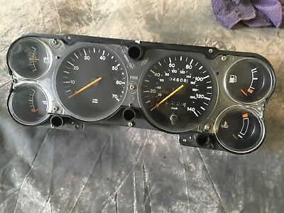 Ford Capri Mk3 Instrument Cluster Four Cylinder. Excellent
