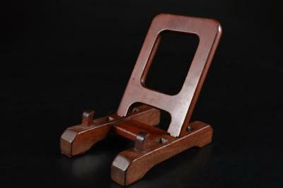 G4459: Japanese Wooden PLATE RACK/dish stand Tea Ceremony