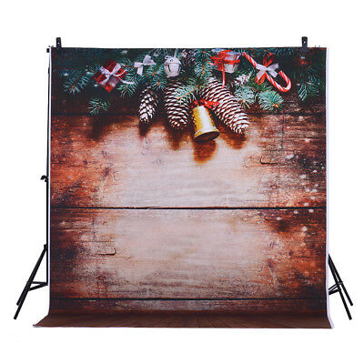 Andoer 1.5 * 2m Photography Background Backdrop Digital Printing Christmas V6B4