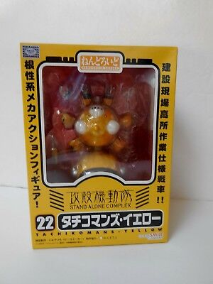 Masamune Shirow STAND ALONE COMPLEX Ghost in the Shell Tachikoma Tachi Yellow