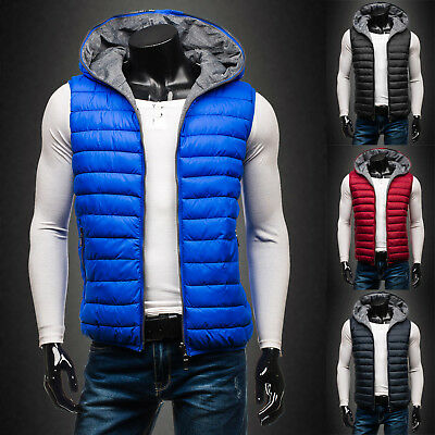BOLF Vests Gilet Waistcoat Bodywarmer Hooded Jacket Quilted Warm Mens 4D4 Puffer
