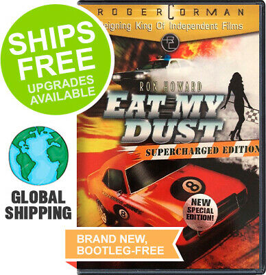Eat My Dust ( Super Charged DVD, 2007) NEW, Ron Howard, Roger Corman, Racing