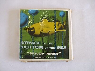 """Sea Of Mines"" Voyage To The Bottom Of The Sea 8mm Black & White Silent Film"