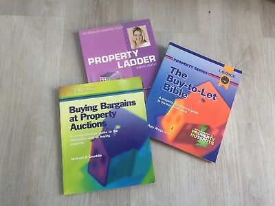 Property Development Book Bundle, Buy To Let, Property Auction