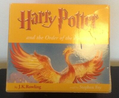 Harry Potter and the Order of the Phoenix 24 CD audio book Stephen Fry