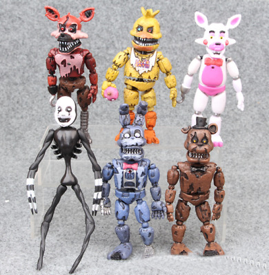 """6pcs Five Nights At Freddy's Game 6"""" Action Figure Doll Toys Gift Xmas Gift"""