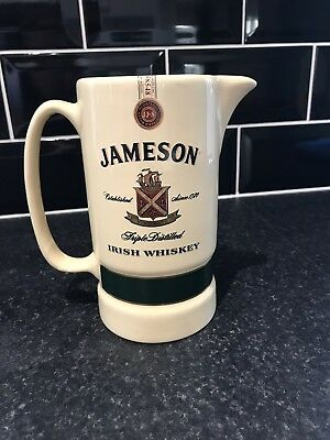 Vintage Jameson Irish Whiskey Water Jug ,
