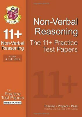 11+ Non-Verbal Reasoning Practice Test Papers: Multiple Choice - Pack 1,CGP Boo