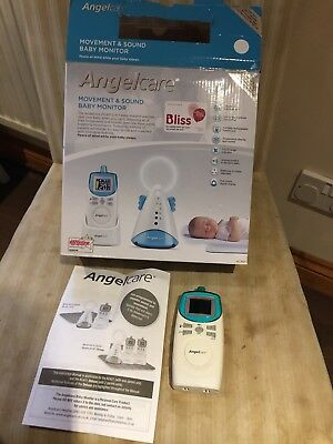 Angel Care Baby Monitor Movement And Sound