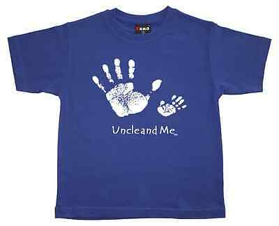 "New Girls T-Shirt  ""UNCLE AND ME"" - Kids Girls or Boys - Tee Top Sizes:0,2,4,6,8"