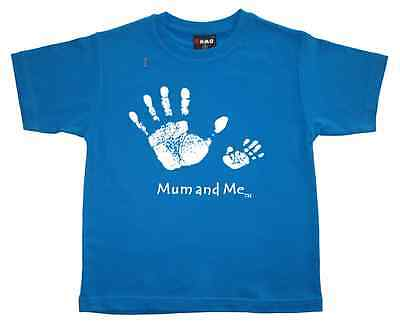 "New Boys T-Shirt  ""MUM AND ME"" - Kids Boys or Girls - Tee Top sizes: 0,2,4,6,8"