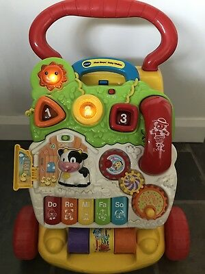 VTech First Steps Baby Walker multi-coloured - Used but in great condition!