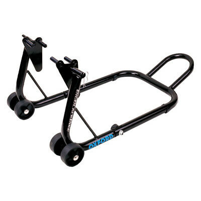 Oxford Big Black Bike Front Paddock Stand Swingarm Motorcycle Motorbike Sp822