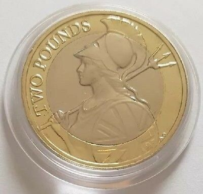 Uk Royal Mint 2019 Britannia £2 Two Pound Bunc From Year Set