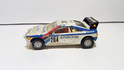 PROVENCE MOULAGE RESIN Peugeot 405 Turbo 16 4x4 Paris-Dakar 1:43 used condition
