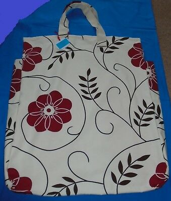 """Shoulder Pillow Bag For 24"""" Pillow  2 Zips- Fully Washable  Laura Ashley Fabric"""