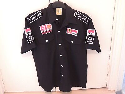 Black Marlboro Ferrari Fi Team shirt (1996)