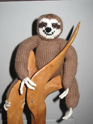 Sloth Hand Knitted