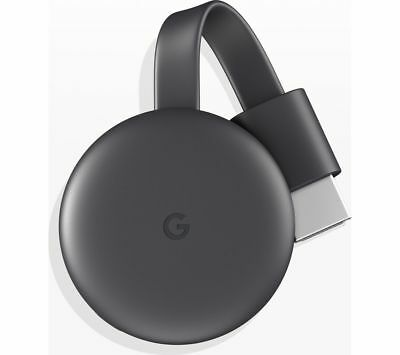 GOOGLE Chromecast - Third Generation, Charcoal - MISSING ACCESSORIES 1
