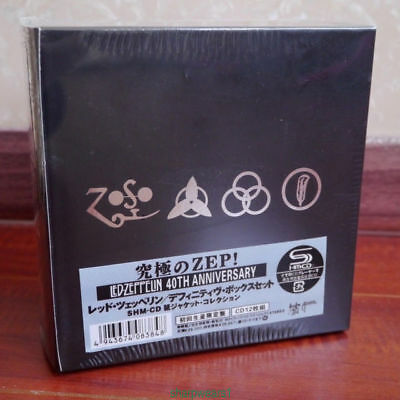 "Led Zeppelin ""40th Anniversary"" 12 CD Mini-LP Japan Box Set Collection IN STOCK/"