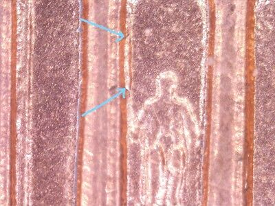 """1997 Lincoln Cent Doubled Die Reverse Red BU DDR """"B"""""""