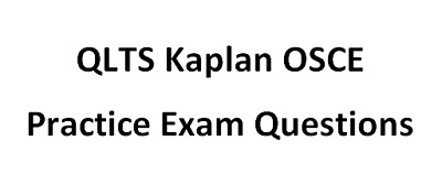QLTS Kaplan OSCE 2019 Solicitor Exam Practice Questions FIRST TIME QLTS PASSER