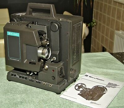 VERY RARE 16mm BELL & HOWELL 1568 HIGH INTENSITY ARC SOUND PROJECTOR