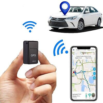 Mini GPS Tracker Anti-theft Safety Device Smart Locator Voice Magnetic Recorder