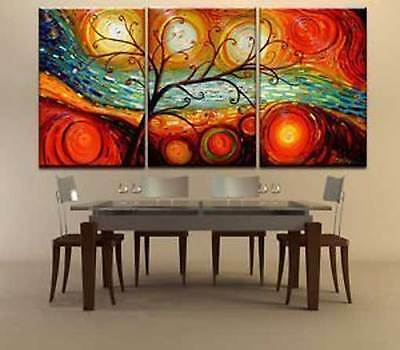 CHENPAT30 fine landscape tree 100% hand-painted modern oil painting wall canvas