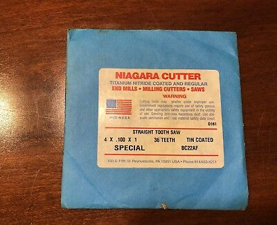 Niagara Straight Tooth Saw