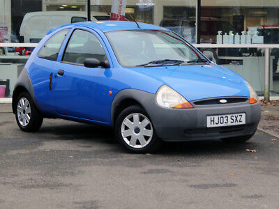 2003 03 FORD KA 1.3 HATCH 3dr - LOCALLY OWNED from NEW - ONLY 44356 MILES!