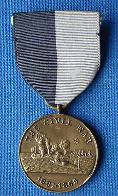 *very Nice Civil War Medal For The Navy - Naval Veterans Who Served*