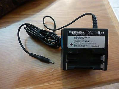 PITNEY BOWES Dictaphone p/n 877084 a/c adapter/charger FOR 1253 / 3240 / 3242