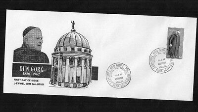 Malta  Illustrated First Day Cover 1980    Dun Gorg  1880 - 1962