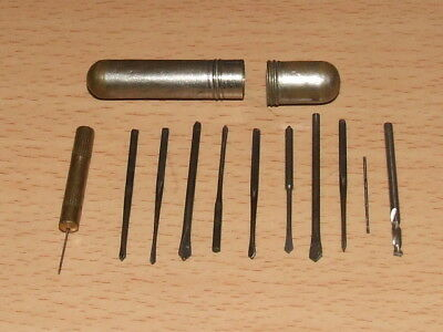 Vintage Clockmakers Drill set  very good order