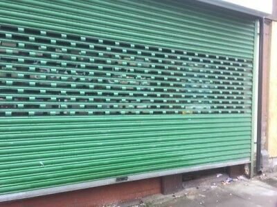 electric roller shutters used good condition