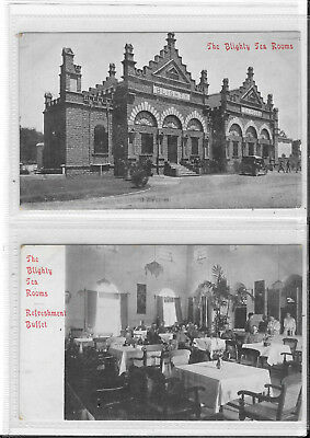 Military Unidentified Postcards The Blighty Tea Rooms