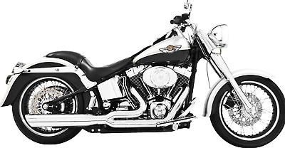 Freedom Performance 2 Into 1 Exhaust HD00036 Harley Softail 1986-2017