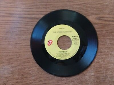 1982 EXC Raro Rolling Stones Hang Fire Rs 21300 Neighbours 45