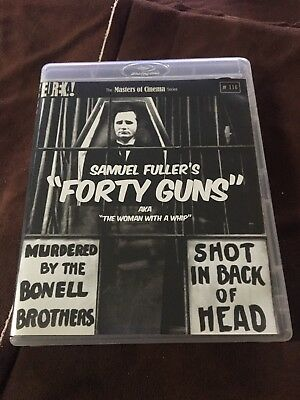 Forty Guns Samuel Fuller Eureka Masters of Cinema Blu-ray, Opened!